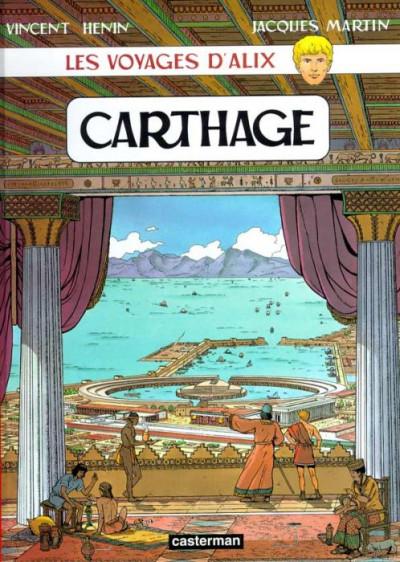Couverture Les voyages d'alix tome 12 - carthage