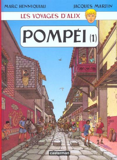 Couverture les voyages d'alix tome 16 - pompéi tome 1