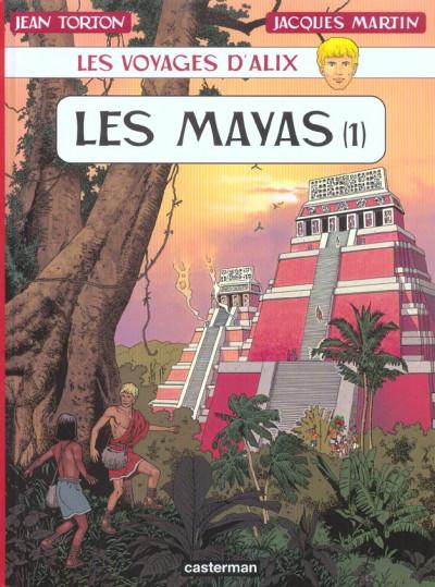 Couverture les voyages d'alix tome 19 - les mayas tome 1