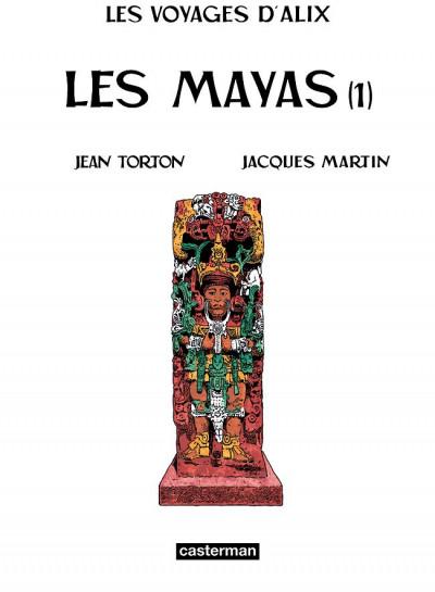 Page 2 les voyages d'alix tome 19 - les mayas tome 1