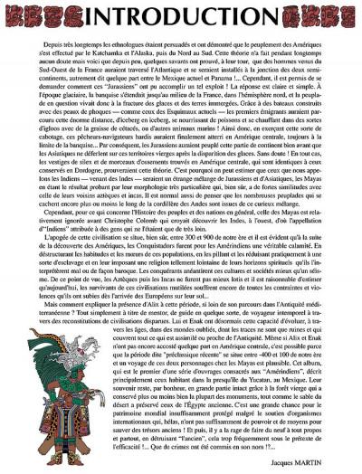 Page 3 les voyages d'alix tome 19 - les mayas tome 1