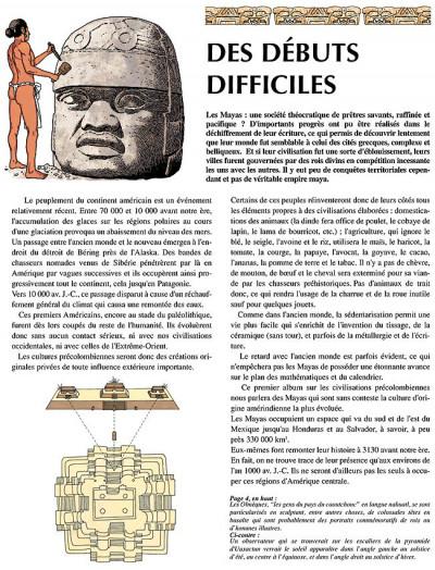 Page 4 les voyages d'alix tome 19 - les mayas tome 1