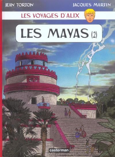 Couverture Les voyages d'alix tome 22 - les mayas tome 2