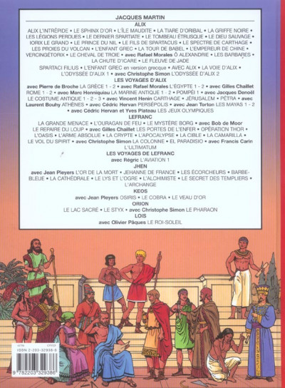 Dos Les voyages d'alix tome 22 - les mayas tome 2