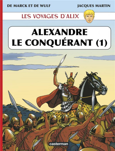 Couverture Les voyages d'alix - alexandre le grand tome 1