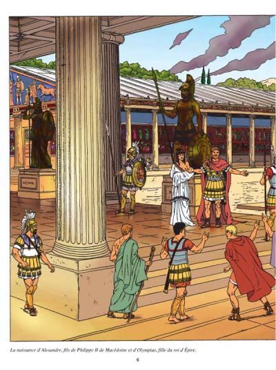 Page 1 Les voyages d'alix - alexandre le grand tome 1