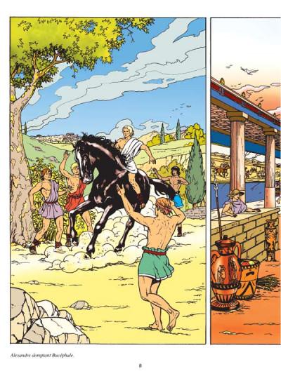 Page 3 Les voyages d'alix - alexandre le grand tome 1