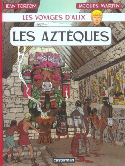Couverture Les voyages d'alix tome 23 - les aztèques