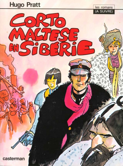 Couverture Corto Maltese tome 4 - en Sibérie