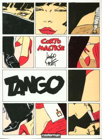 Couverture Corto Maltese tome 9 - tango