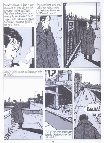 Page 2 Nestor Burma tome 1 - brouillard au pont de tolbiac