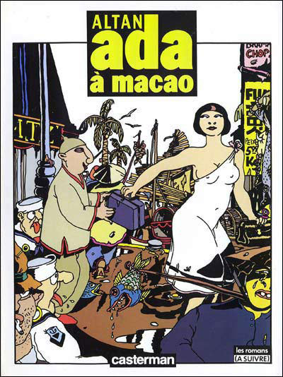Couverture Ada tome 2 - Ada à Macao