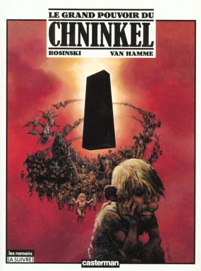 Couverture le grand pouvoir du chninkel