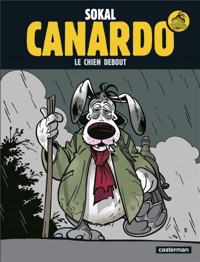 Couverture Canardo tome 1 - le chien debout
