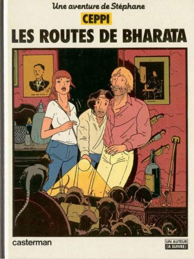 Couverture Stéphane Clément tome 4 - routes de bharata