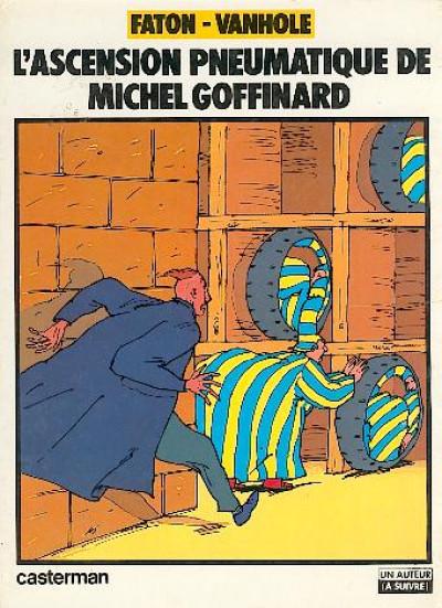 Couverture L'ascension pneumatique de Michel Goffinard