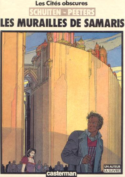Couverture Les cités obscures tome 1 - Les murailles de Samaris