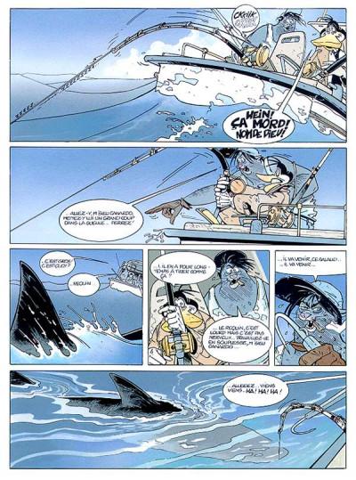 Page 1 Canardo tome 7 - l'ile noyée