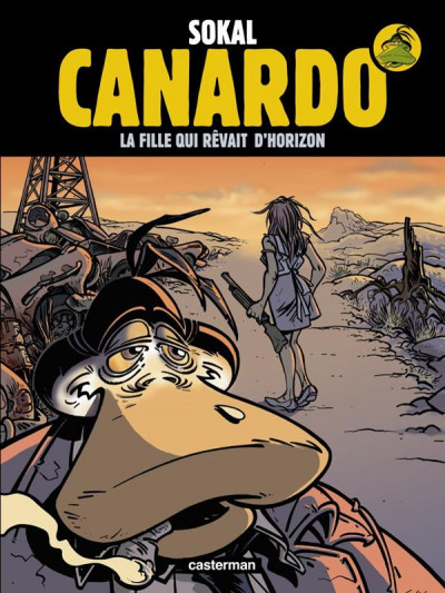 Couverture Canardo tome 10 - la fille qui rêvait d'horizon