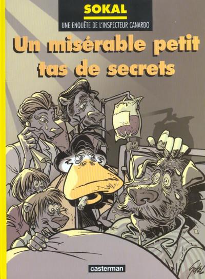 Couverture Canardo tome 11 - un misérable petit tas de secrets