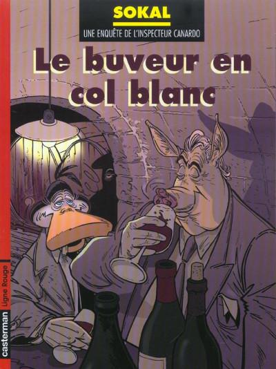Couverture Canardo tome 13 - le buveur en col blanc