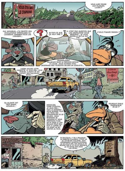 Page 1 Canardo tome 13 - le buveur en col blanc