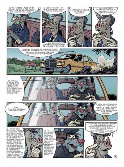 Page 3 Canardo tome 13 - le buveur en col blanc