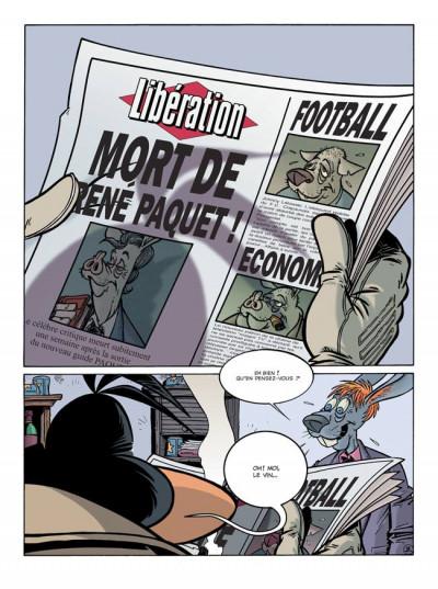 Page 4 Canardo tome 13 - le buveur en col blanc