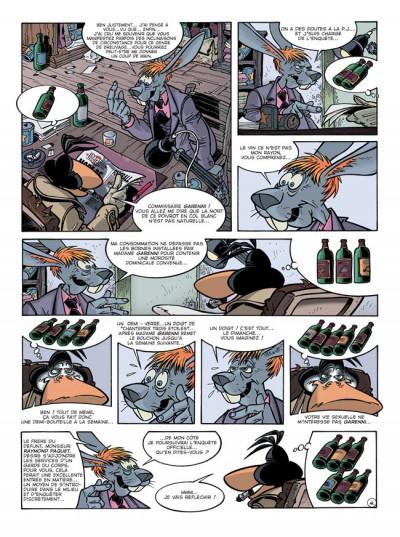 Page 5 Canardo tome 13 - le buveur en col blanc