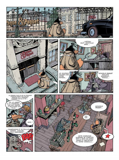 Page 6 Canardo tome 13 - le buveur en col blanc