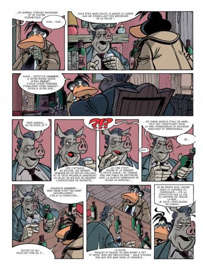 Page 7 Canardo tome 13 - le buveur en col blanc