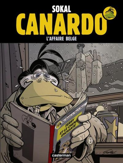 Couverture Canardo tome 15 - l'affaire belge