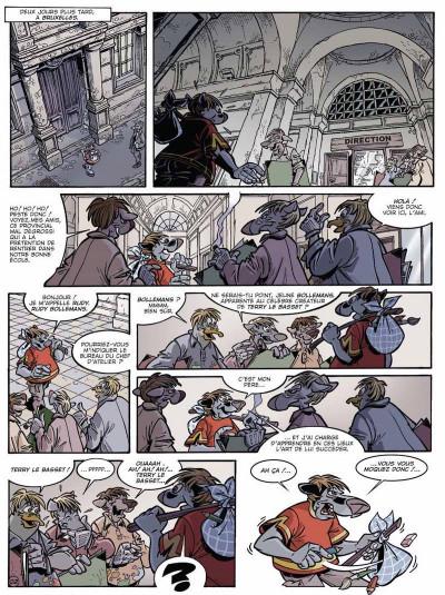 Page 3 Canardo tome 15 - l'affaire belge