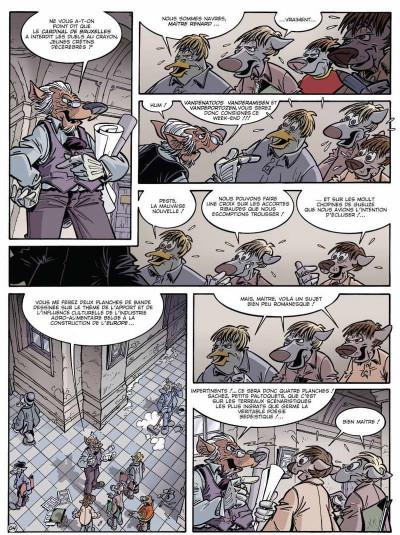 Page 4 Canardo tome 15 - l'affaire belge