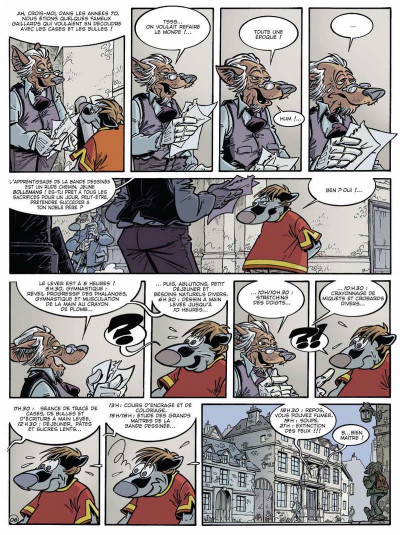 Page 6 Canardo tome 15 - l'affaire belge