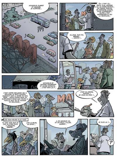 Page 1 Canardo tome 16 - l'ombre de la bête