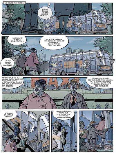 Page 2 Canardo tome 16 - l'ombre de la bête