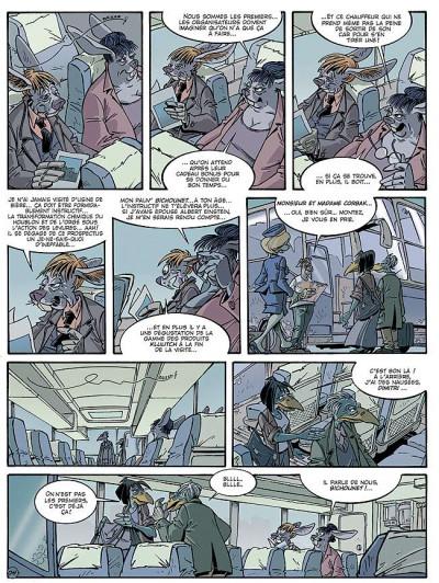 Page 4 Canardo tome 16 - l'ombre de la bête