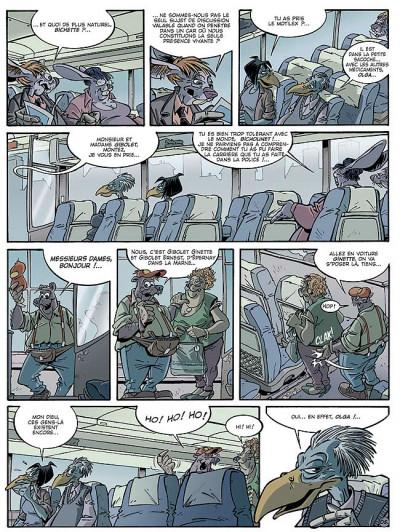 Page 5 Canardo tome 16 - l'ombre de la bête