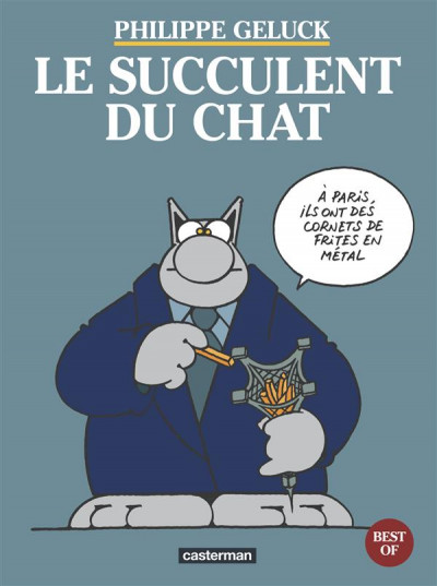 Couverture Le chat - les best of tome 3 - le succulent du chat