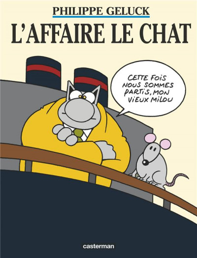 Couverture Le chat tome 11 - l'affaire le chat