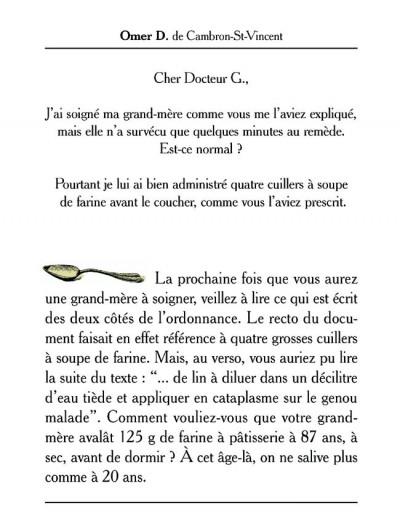 Page 3 docteur g tome 1 - le docteur g repond à vos questions