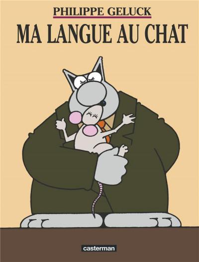 Couverture Le chat tome 6 - ma langue au chat