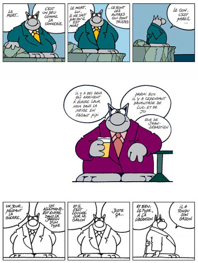Page 1 Le chat tome 6 - ma langue au chat
