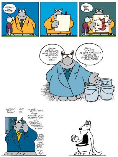 Page 3 Le chat tome 6 - ma langue au chat