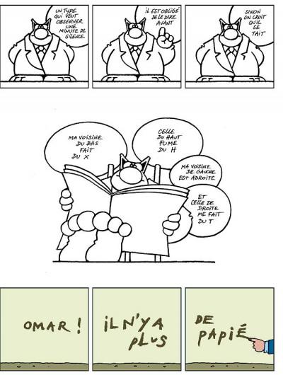 Page 4 Le chat tome 6 - ma langue au chat
