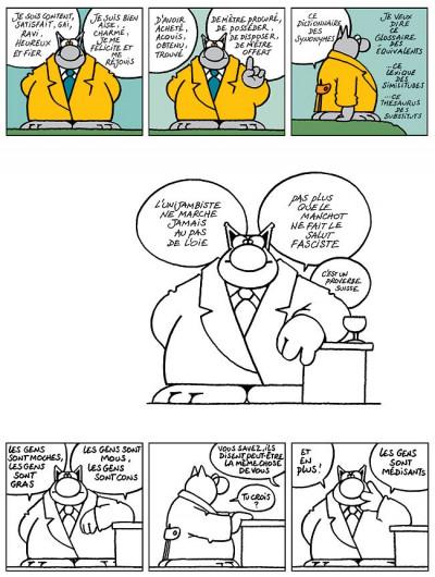 Page 5 Le chat tome 6 - ma langue au chat