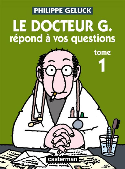 Couverture Le Docteur G tome 1 - répond à vos questions (ned)