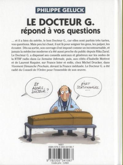 Dos Le Docteur G tome 1 - répond à vos questions (ned)