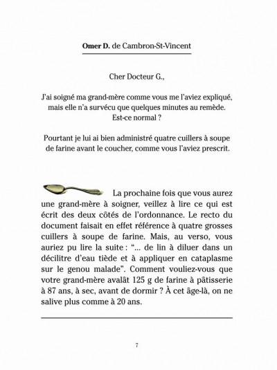 Page 3 Le Docteur G tome 1 - répond à vos questions (ned)